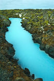The Blue Lagoon in Iceland Royalty Free Stock Photo