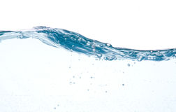 Blue Water In Motion Stock Images