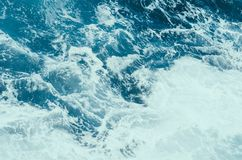 blue water of ocean Royalty Free Stock Photos