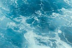 blue water of ocean Stock Photos