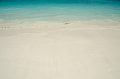 Blue water of the ocean and white sand, Similan Islands, Thailand. Beach in Similan Islands National Park, thailand Stock Image