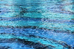 Blue water pool Royalty Free Stock Photos