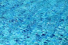 Blue water pool Royalty Free Stock Photo