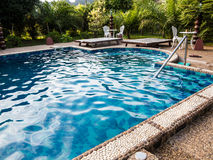 Blue water pool Stock Photography