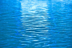 Blue water ripple. Stock Images