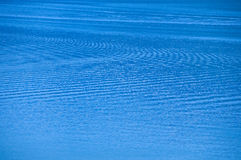 Blue water ripple. Royalty Free Stock Images