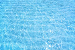 Blue water ripple background Royalty Free Stock Image
