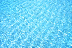 Blue water ripple background Royalty Free Stock Photography