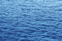 Blue water ripple Royalty Free Stock Images