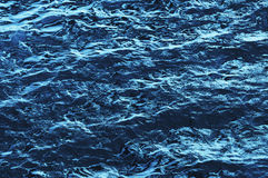Blue water ripple Stock Photo