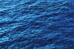 Blue water ripple Royalty Free Stock Photos