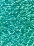 Blue water ripples Royalty Free Stock Images