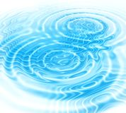 Blue water ripples abstract background. Abstract background with blue radial water ripples royalty free illustration