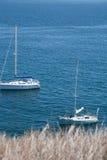 Blue water sail Royalty Free Stock Photo