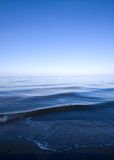 Blue water seascape  background Royalty Free Stock Photos