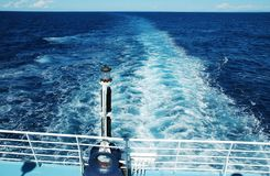 Blue water surface Stock Images