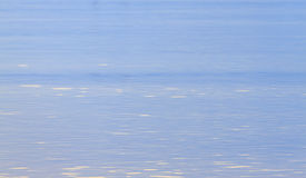Blue water surface abstract Royalty Free Stock Photography