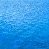 Blue water surface background, texture pattern Royalty Free Stock Photography