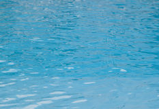 Blue water. Surface, can be used as background Stock Photography