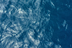 Blue water surface Royalty Free Stock Photos