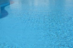 Blue water surface Royalty Free Stock Photo