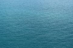 Blue water surface tropical sea Stock Photo