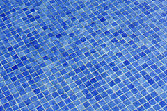 Blue water in swimming pool Stock Image