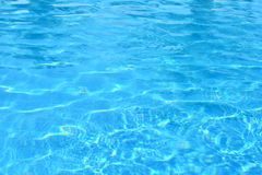 Blue Water Swimming Pool Background Stock Image