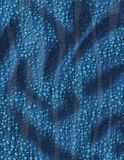 Blue water texture Royalty Free Stock Photos