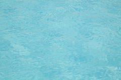 Blue water texture pattern Stock Photos