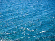 Blue Water Texture Royalty Free Stock Photo