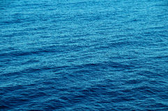 Blue Water Texture Royalty Free Stock Photography