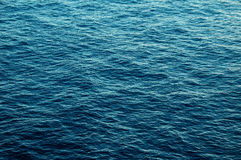 Blue Water Texture Royalty Free Stock Image