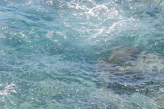 Blue Water Texture Stock Images