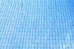 Blue water texture at pool Royalty Free Stock Image
