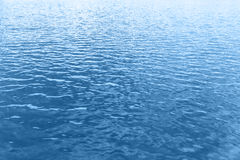 Blue water wave background Stock Photo
