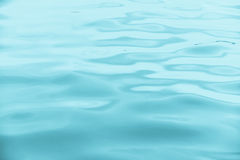 Blue water wave for background. Stock Image