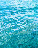 Blue water wave Stock Image