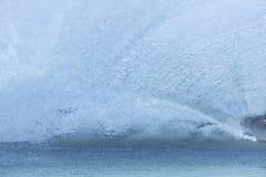 Blue water wave splashing. Stock Photos