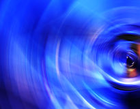 Blue water waves Royalty Free Stock Photography