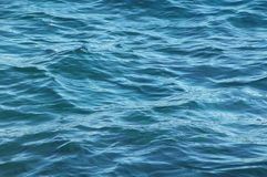 Blue Water Waves Texture Royalty Free Stock Photos