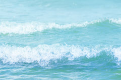 Blue Water waves texture background Royalty Free Stock Images