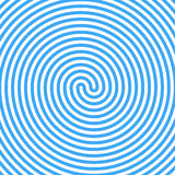 Blue Water Whirlpool. Abstract Spiral Background. Vector Stock Photos