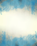 Blue watercolor abstract background texture stock photo