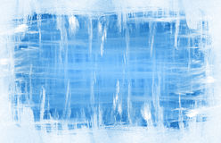 Blue watercolor background. Watercolor ice background with space for text Royalty Free Stock Photo