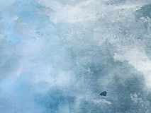 Blue Watercolor Background. Beautiful soft Blue Watercolor Background Royalty Free Stock Photos