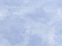 Blue Watercolor Background. Beautiful soft Blue Watercolor Background Stock Photography