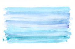 Blue watercolor background stock images
