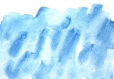 Blue watercolor background Royalty Free Stock Images