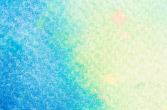Blue watercolor background texture Stock Images